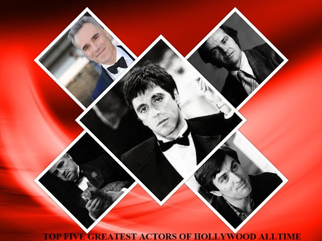 TOP FIVE GREATEST HOLLYWOOD ACTORS OF ALLTIME
