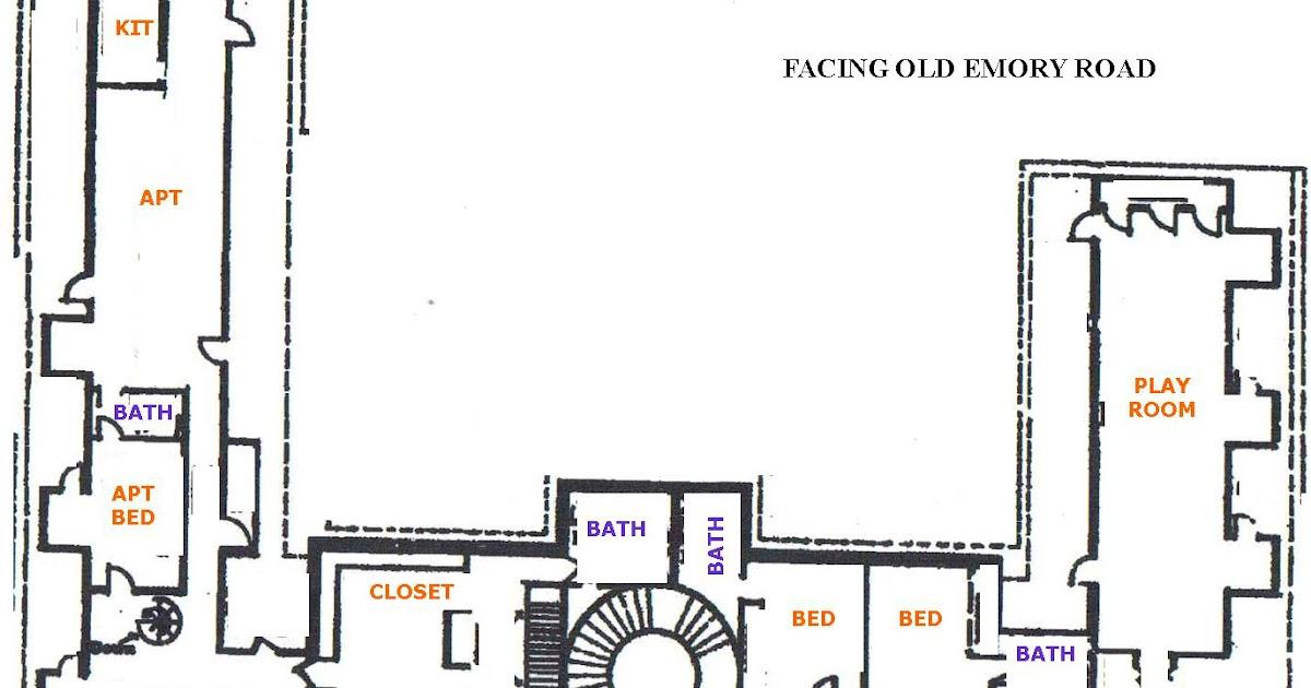 182 Whirlwind Lane: Original Floorplan For The Butcher