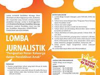 Hadiah 180 Juta Lomba Menulis Jurnalistik Kemendikbud, Penguatan Peran Keluarga dalam Pendidikan Anak!