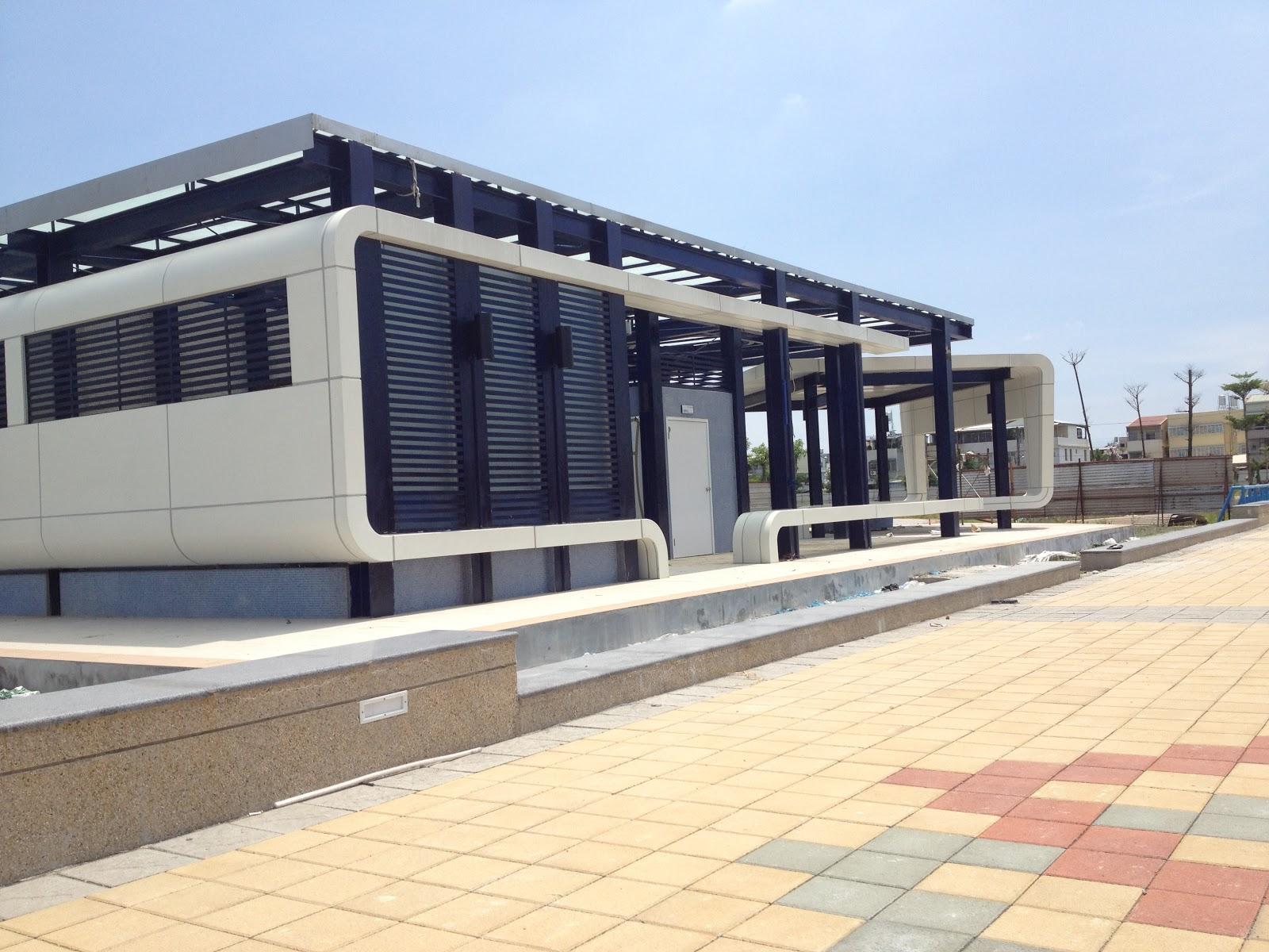 EMA億展建築師事務所: 屏東機場東側休憩設施