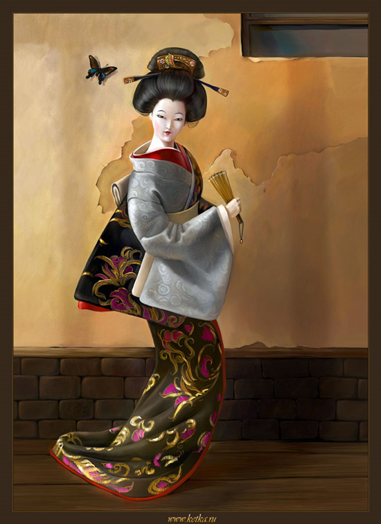 Beautiful Geisha Artzxhibit