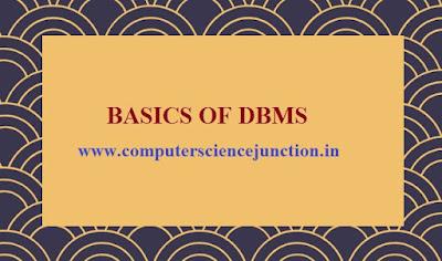 characteristics of dbms