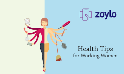 online healthcare & fitness tips for working women