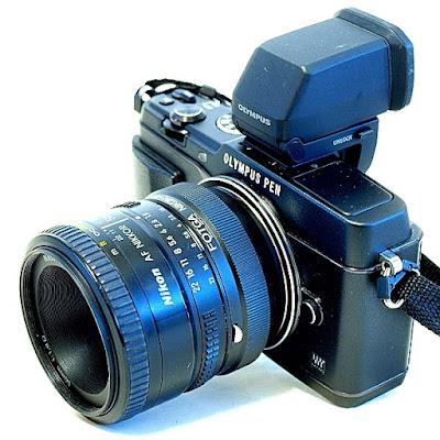 Olympus E-P5, AF Nikkor 50mm 1:1.8 D
