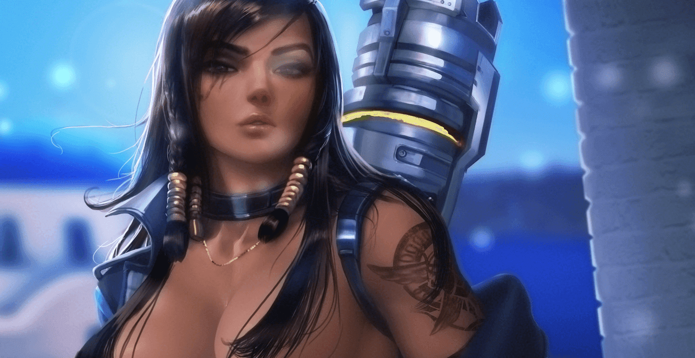 Pharah by SakimiChan - Overwatch [Wallpaper Engine Free]