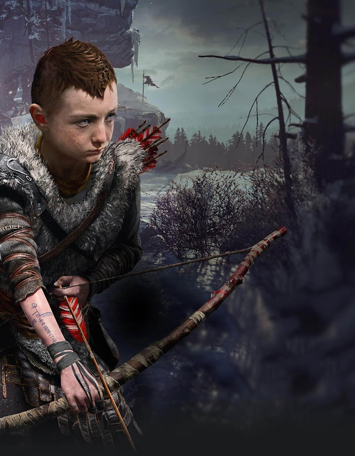 god of war playstation 4 atreus