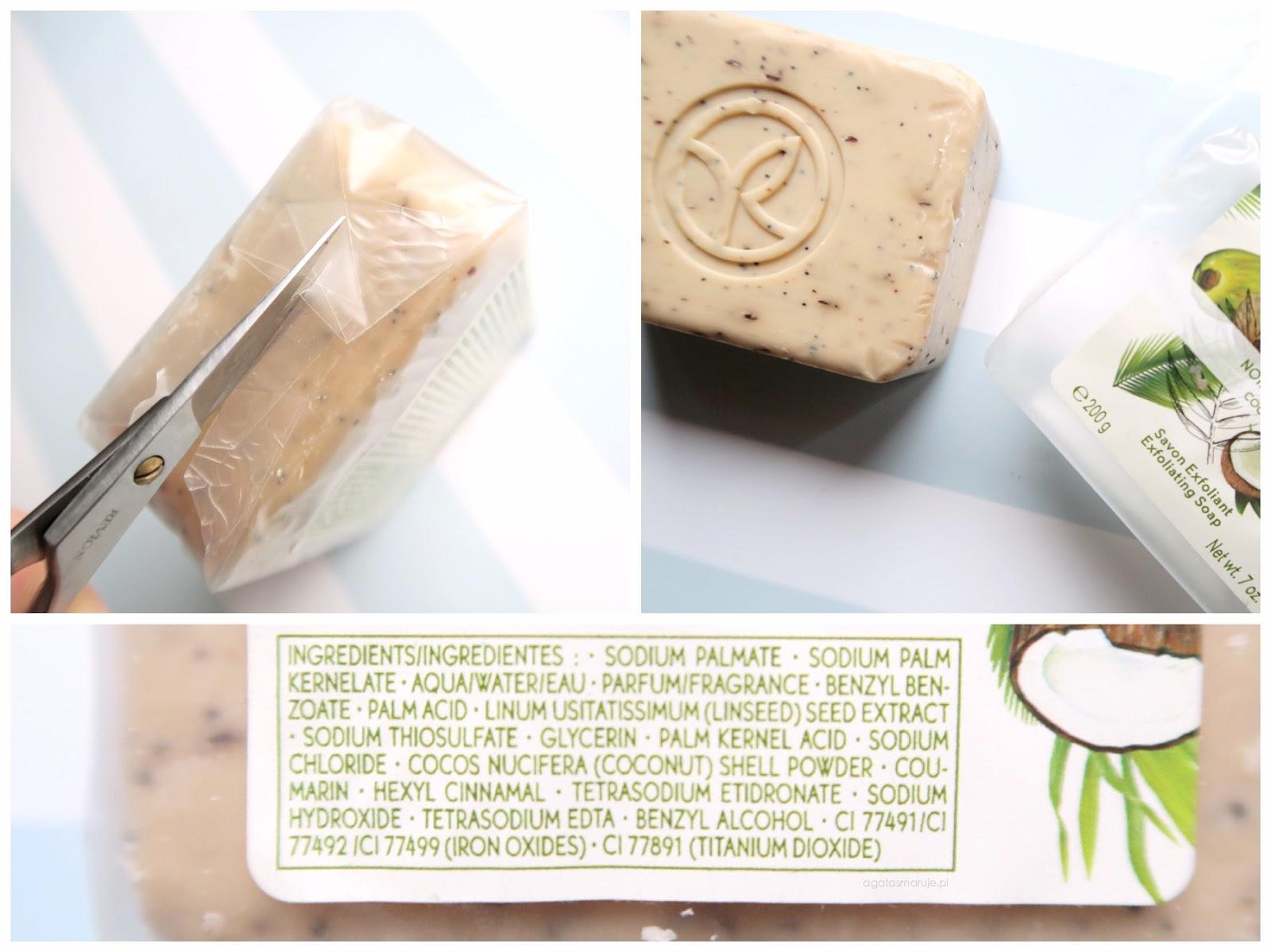 Yves Rocher Plaisirs Nature Noix de Coco peeling INCI