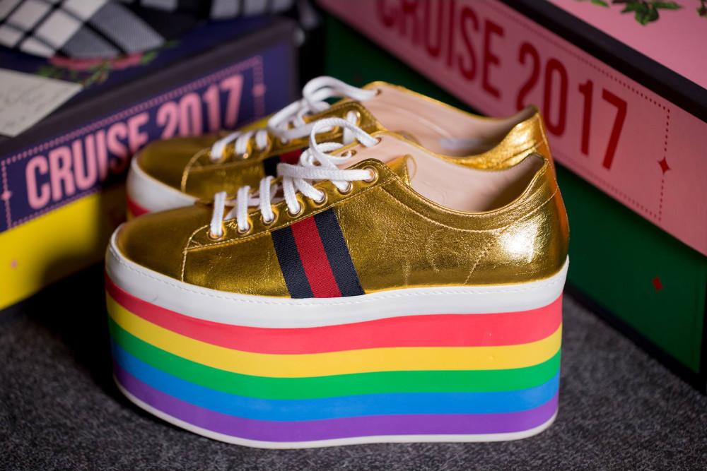 quality design d6372 c3b47 scarpe di gucci