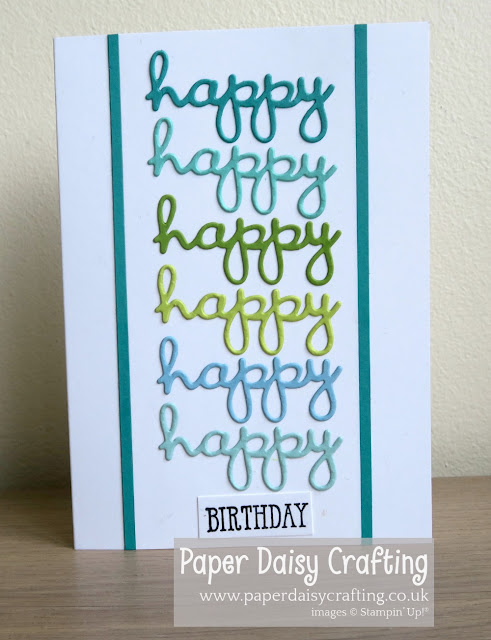 Well written Stampin' Up!