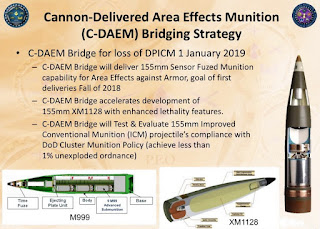 Cannon-Delivered Area Effects Munition (C-DAEM)