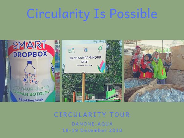 Circularity Tour Bersama Danone-AQUA