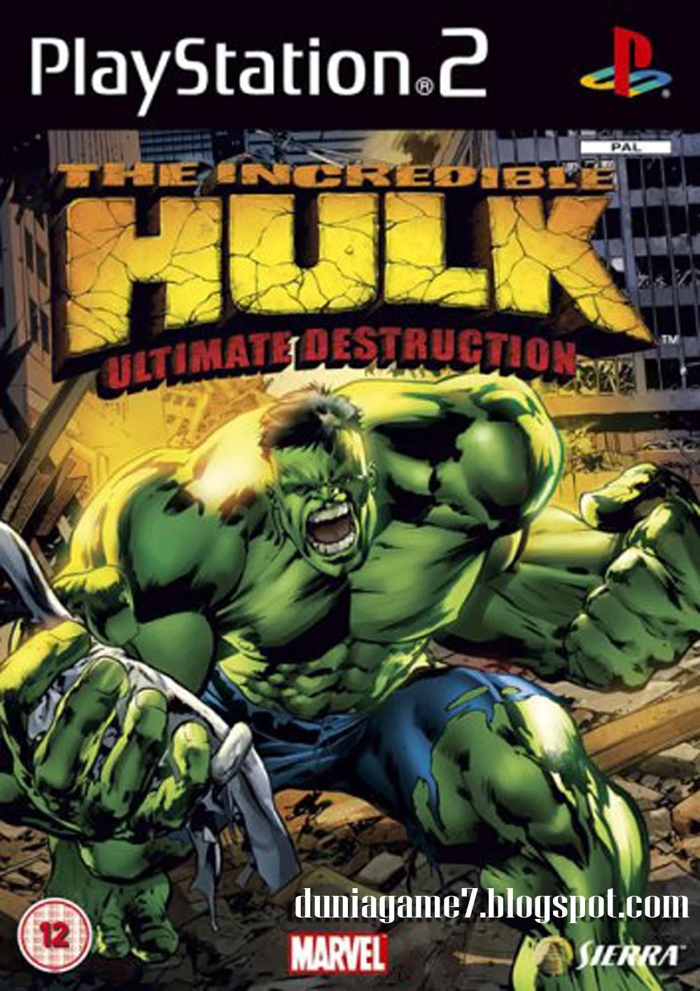 The Incredible Hulk: Ultimate Destruction [Gamecube ...