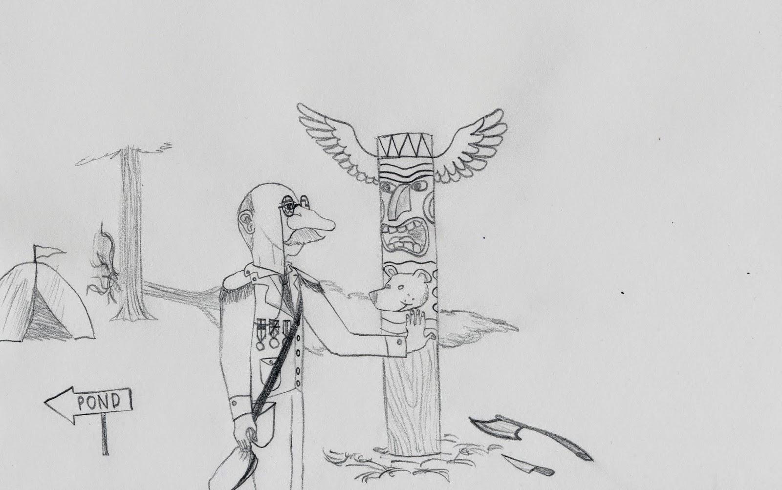 Santiago: Evolution of an artist: Spring 2014 Drawings