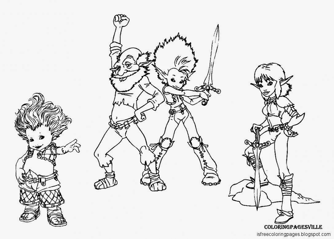 Arthur And The Minimoys Coloring Pages - Learny Kids