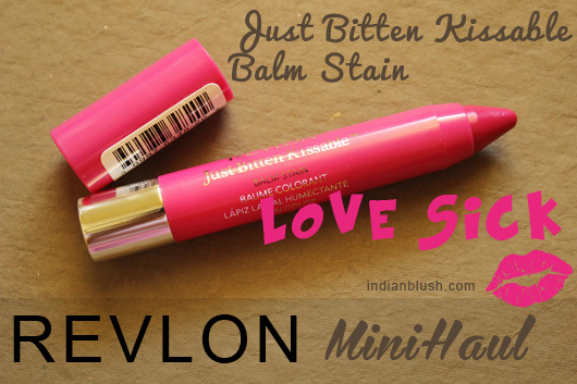 REVLON Just Bitten Kissable Balm Stain Love Sick
