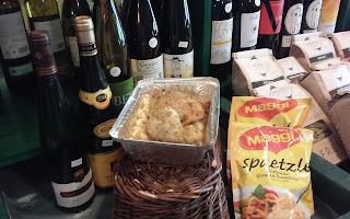 Alsace Chicken with Spaetzle