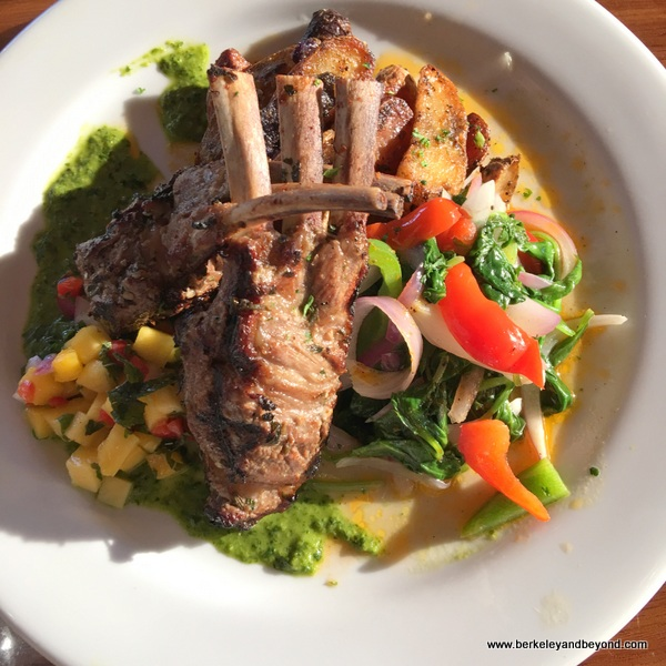 lamb chops at Sailor Jack's in Benicia, California