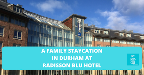 A Family Staycation in Durham at Radisson Blu Hotel (AD)