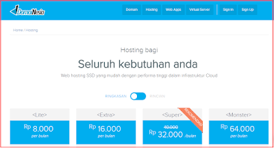 Hosting Murah DomaiNesia Hosting Terbaik Indonesia