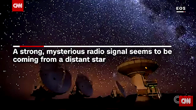 Radio Signal Sparks Alien Life Speculation