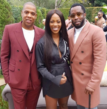 tiwa savage p diddy