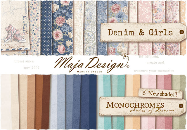 Maja Design Denim & Girls and Monochrome collection