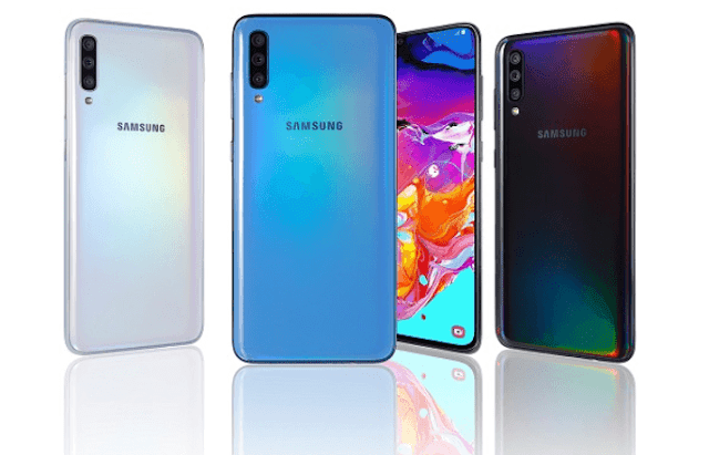 Samsung Galaxy A70 with 6.7-inch 20:9 AMOLED display now official