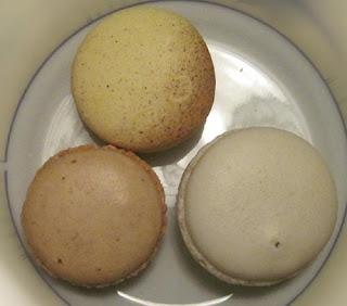 Vanilla Macarons.