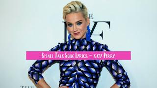 Small-Talk-Song-Lyrics-Katy-Perry-Latest-Song