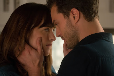 Fifty Shades Darker movie still featuring Dakota Johnson and Jamie Dornan (9)