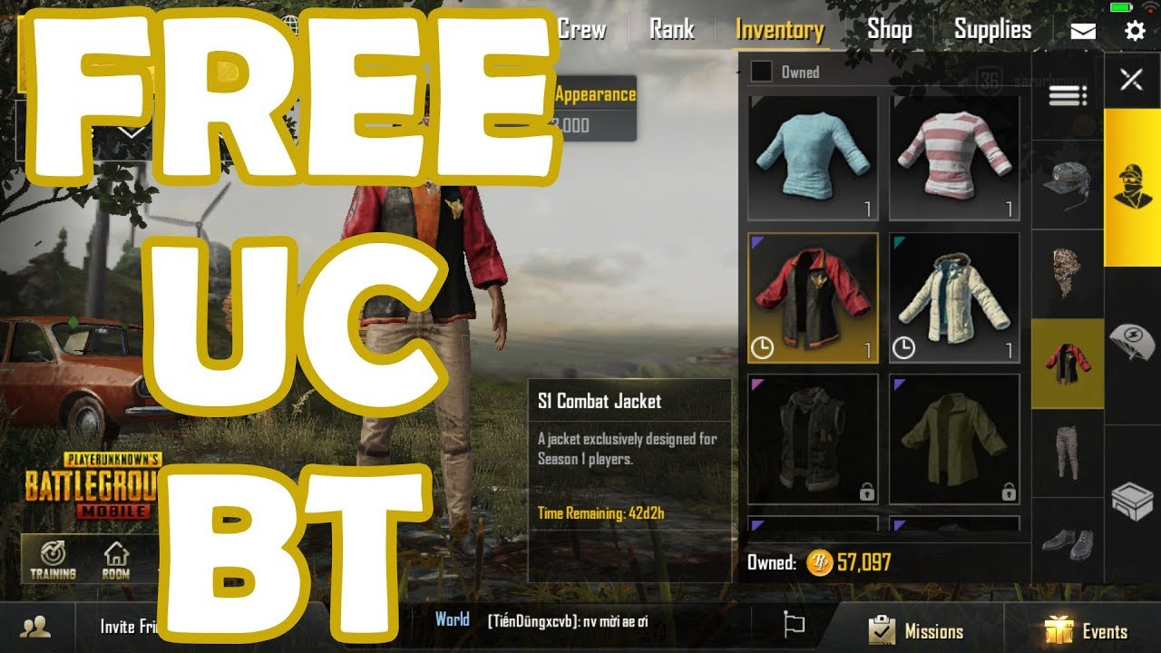 Full Hacking Uc Uc Pubgmo Sitepubgcash Club Hack Uc Pubg Mobile Mới