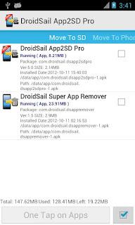 نقل التطبيقات الى الذاكرة الخارجية للاندرويد  SUPER APP2SD PRO