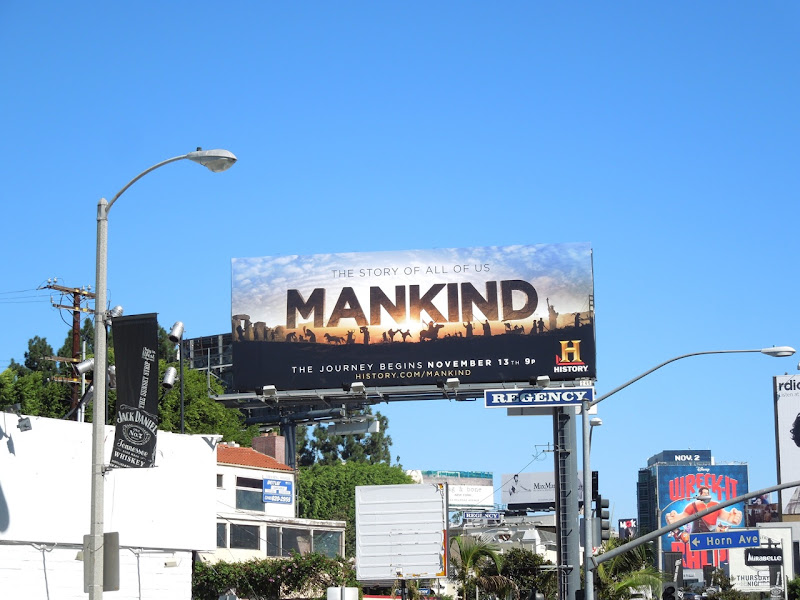 Mankind billboard