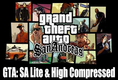 Download Game Android Gratis GTA: SA Lite & High Compressed apk + data