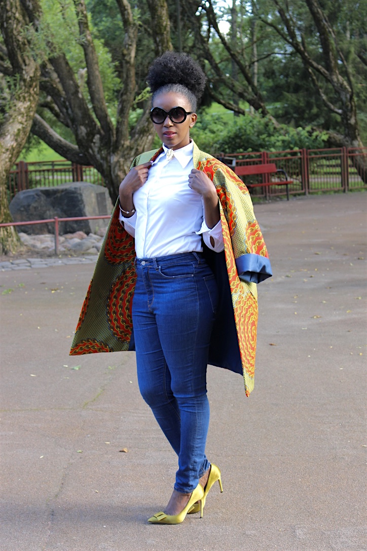 liz ndegwa the color guru in one of her designs
