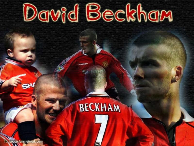 "David Beckham Manchester United ""Best Player"""