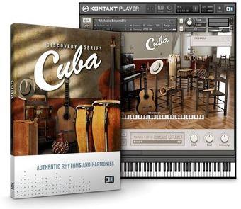 NI Cuba Instrumentos de Percusión Afrocubanos VST: Congas, Bongos, Trompetas, Piano, Cajón etc.