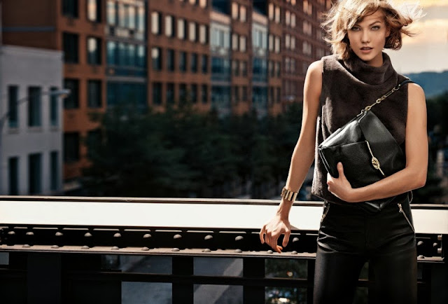 Karlie Kloss and Liu Wen are the stars of the Coach Fall/Winter 2013 Campaign