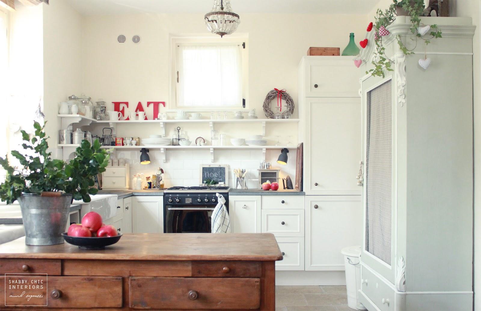 Shabby Chic Natale : Natale in famiglia shabby chic interiors