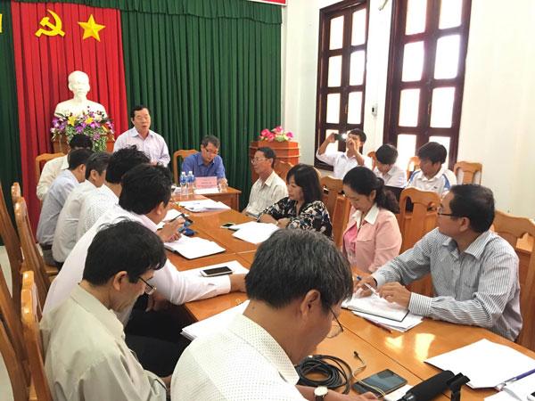 Bình Thuận lên tiếng vụ còng tay chủ trường Thanh Nguyên