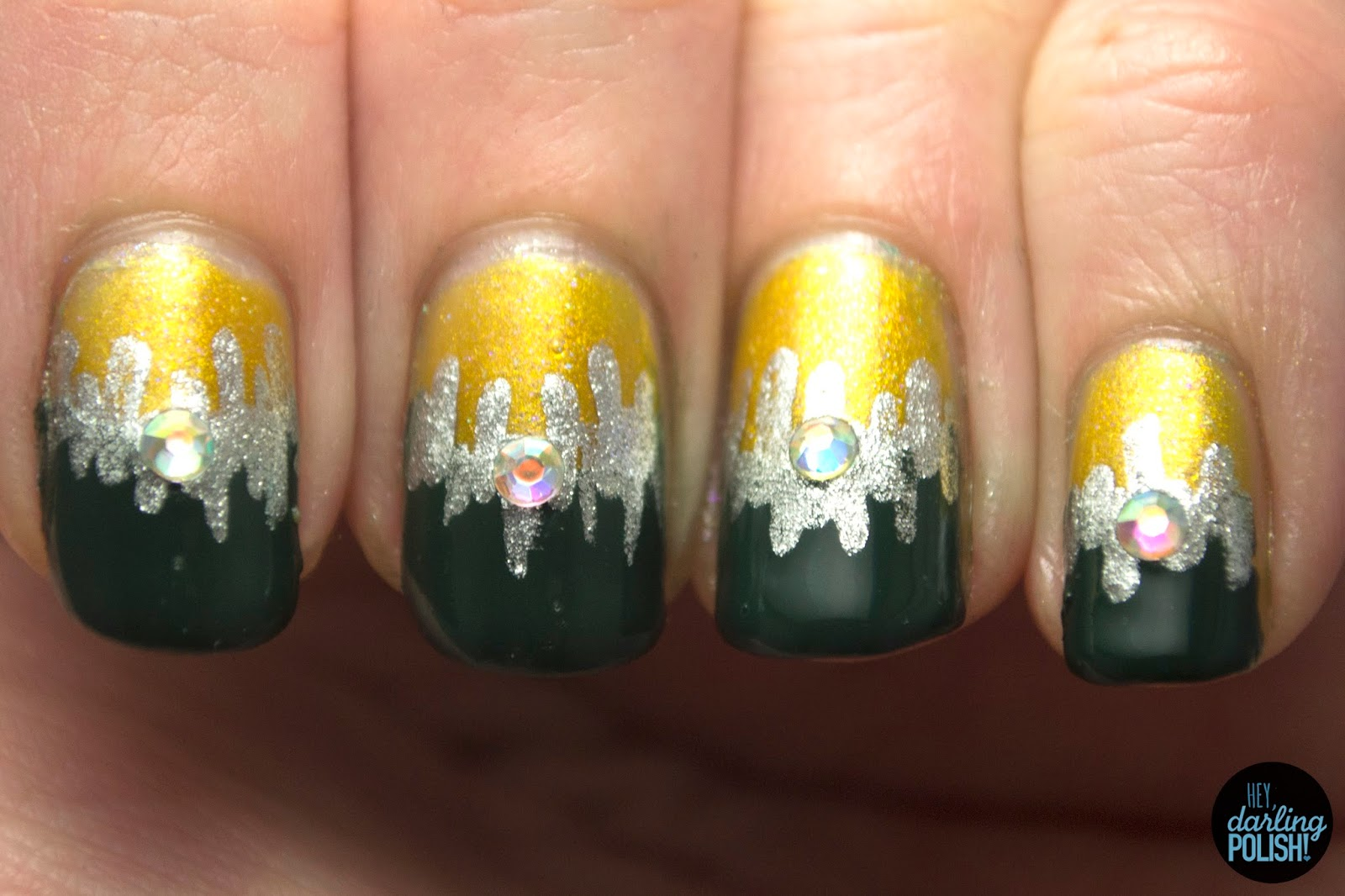 Tri-Polish Challenge: Festiveness Gone Wrong • Polish Those Nails