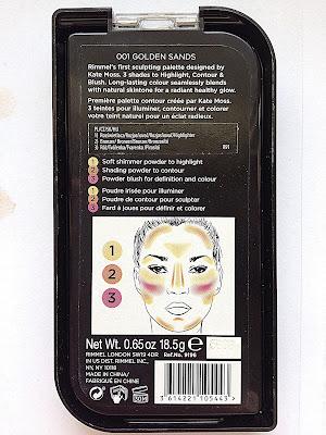 Rimmel - paleta do konturowania twarzy by Kate Moss