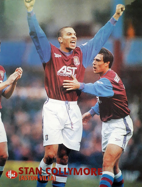 STAN COLLYMORE OF ASTON VILLA