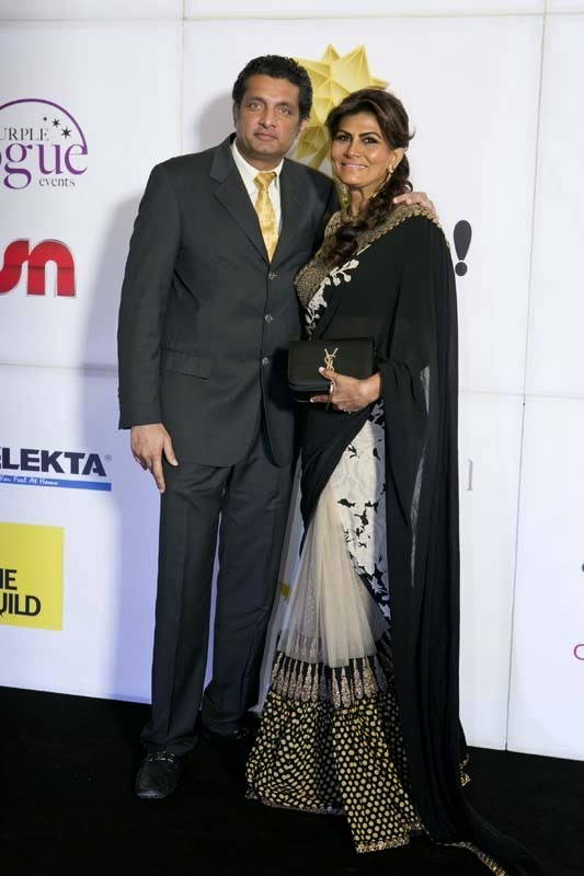 Ram and Asha Murthy, Masala! Awards 2014 Photo Gallery