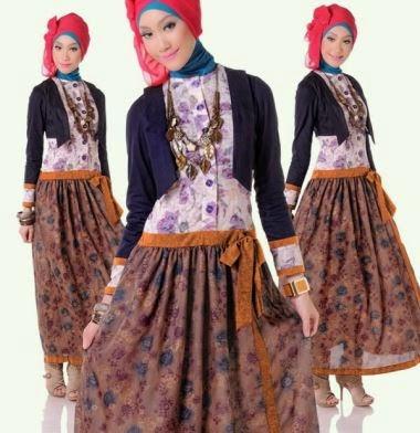 Baju remaja muslim yang feminim