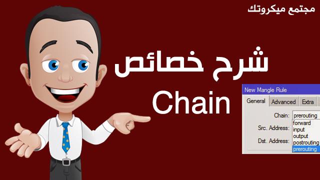 شرح خصائص Chain في Mangle راوتر الميكروتك