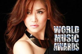 Sarah Geronimo wins World Music Awards 2014