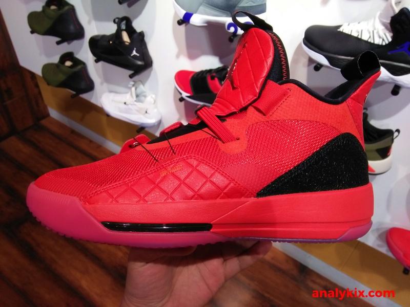 a8218494bdc819 Air Jordan XXXIII University Red