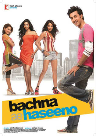 Bachna Ae Haseeno 2008 BluRay 450Mb Hindi 480p
