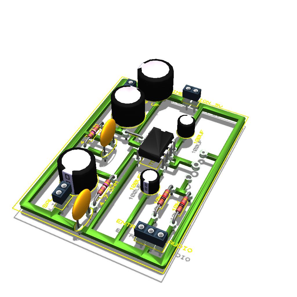Amplificador de sonido casero (bien explicado para novatos )